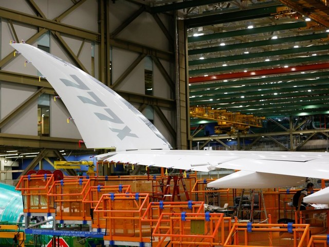 Boeing reporte l'entrée en service de la version très longue portée du 777x