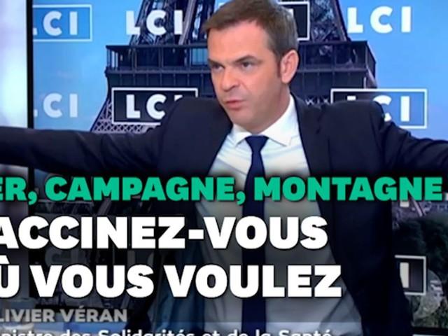 Covid: Véran a fini par changer de pied sur la vaccination sur son lieu de vacances