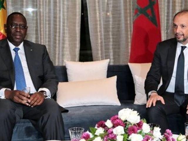 Le président du Sénégal Macky Sall au Maroc