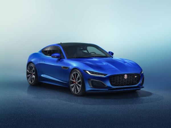 Le design de la sportive biplace Jaguar F-Type Coupé se fait plus sculptural