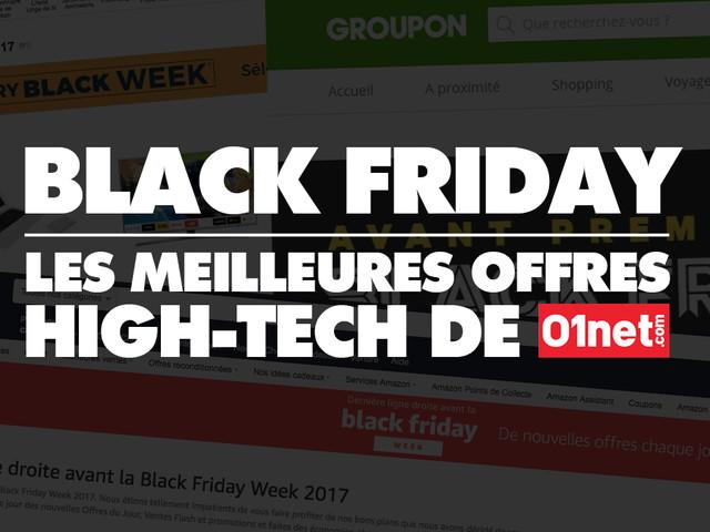 Black Friday 2018 : les meilleures offres high-tech