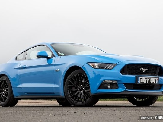 Photos du jour : Ford Mustang 5.0