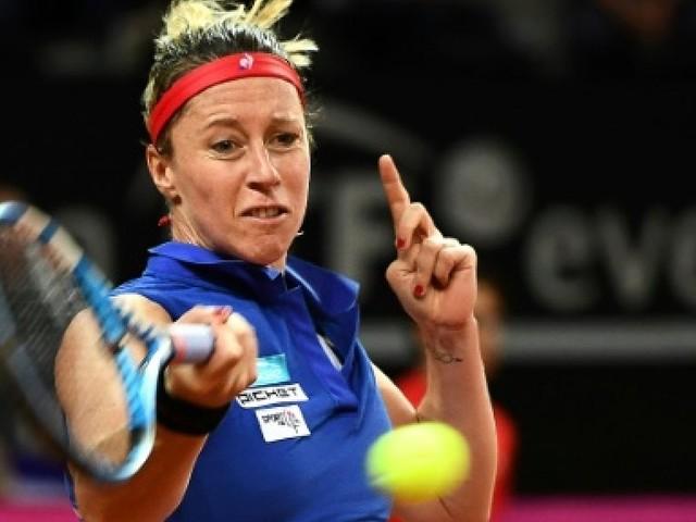 Fed Cup: France-USA, Parmentier, battue par Stephens, peut nourrir des regrets