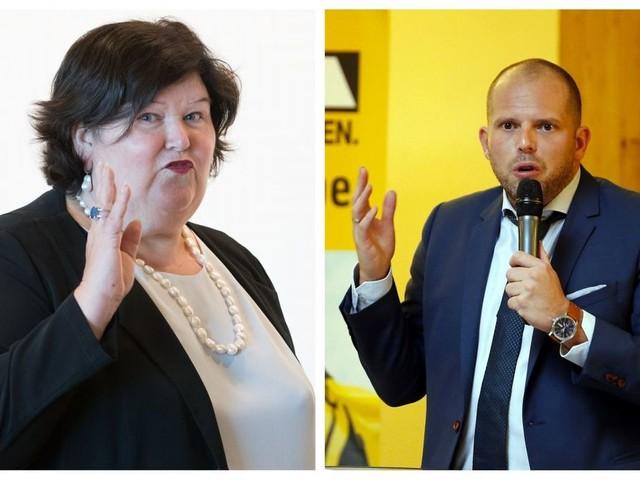 Politique d'asile: la tension monte entre Maggie De Block et Theo Francken