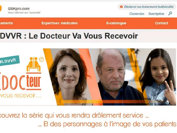 GSK lance une web série pour les professionnels de santé