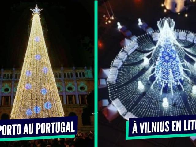 Top 10 des plus beaux arbres de Noël autour du monde, de la guirlande en veux-tu en voilà