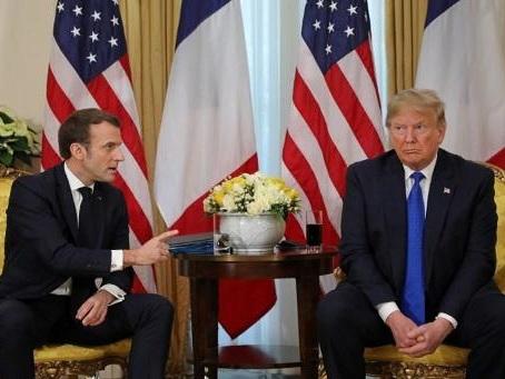 Taxe numérique: accord Macron-Trump pour prolonger les négociations