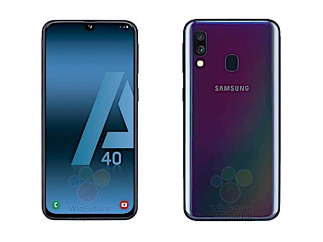 Une fuite montre ce que pourrait être le Samsung Galaxy A40