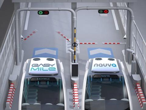 Navettes autonomes: la revanche d'EasyMile sur Navya