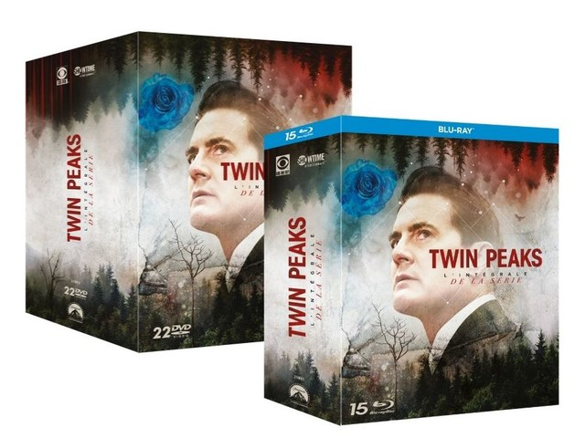 L'intégrale de la série Twin Peaks est disponible en DVD et Blu-ray
