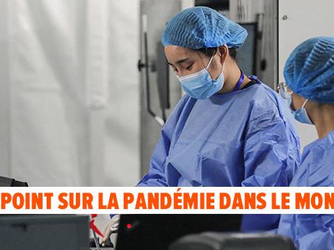 Coronavirus - BILAN MONDIAL: 3.000 soignants non vaccinés suspendus en France, le pass sanitaire demandé sur le lieu de travail en Italie