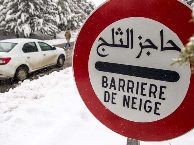 Maroc : alerte à la neige et aux averses