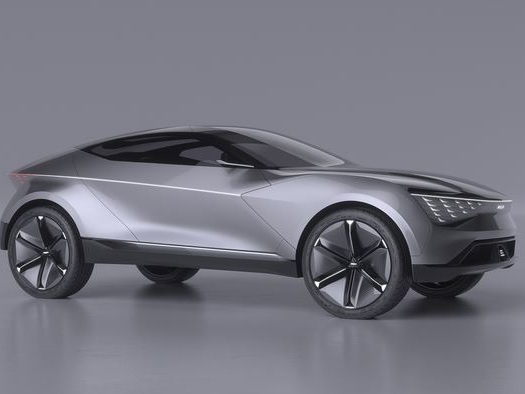 Le concept de SUV coupé Kia Futuron arbore un design monobloc expressif