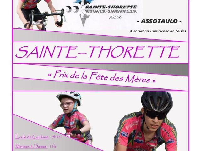 Organisation de l'Union Bourges Cher Cyclisme (UBCC) du 27 mai 2018 à Sainte Thorette (18). Avec au programme les EDC (de pré-licencié à benjamins), le matin sur un petit circuit (env 1km) au coeur du village de Sainte Thorette puis ensuite les Minimes en fin de matinée, les Cadets en début d'après midi et enfin les 3ème/Juniors & PCopen, sur un circuit de plus de 7km au bord du Cher entre Ste Thorette et Preuilly. - (Emmanuel Harault)