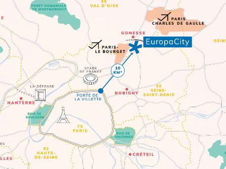 Europacity : trois fédérations de commerçants rejoignent les opposants au mégaprojet