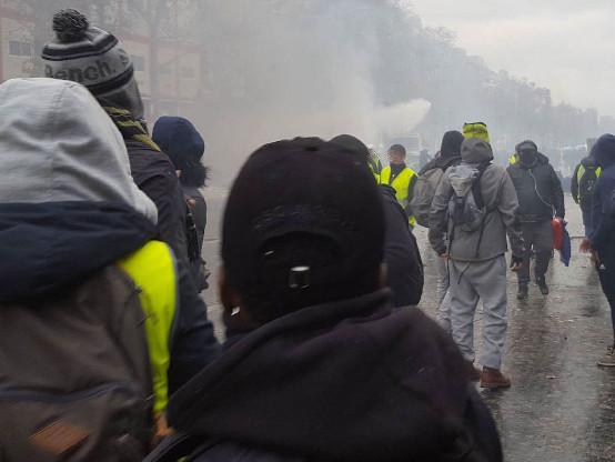 « Gilets jaunes »: Levavasseur ne veut pas « baisser les bras » malgré les insultes