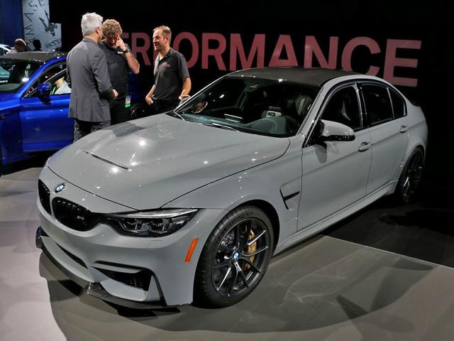 Diaporama : on a pu apporcher la BMW M3 CS au Salon de Los Angeles