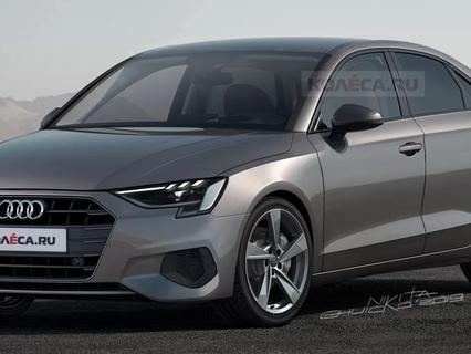 Future Audi A3 berline : comme ça ?