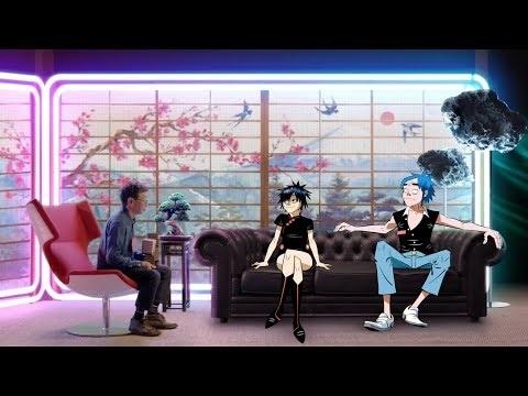 """Gorillaz XG-Shock, c'est le combo de la vidéo de """"In Conversation"""", qui n'est pas un clip vidéo, mais..."""