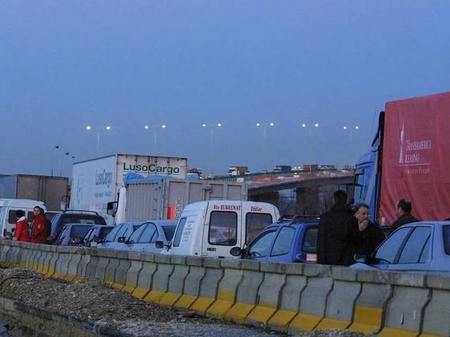 Bordeaux : l'A10 bloquée ce mercredi matin suite à une action syndicale