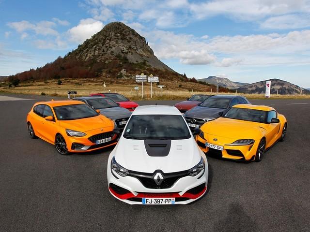 Renault Megane RS Trophy-R : sportive de l'année selon le magazine Echappement