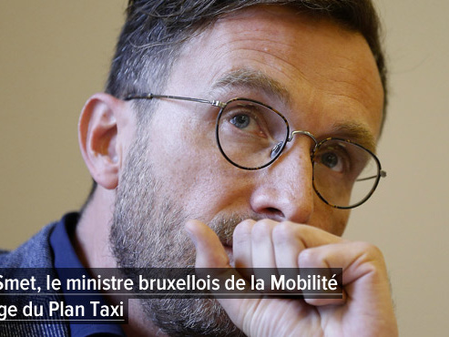 Des chauffeurs de taxis manifestent à Bruxelles: cela fait 1000 jours que le gouvernement promet un Plan Taxi