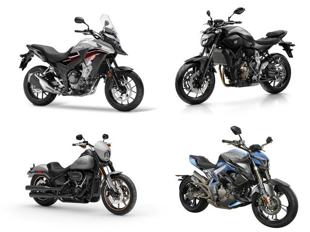 Marché A2 2019 : 37% des ventes de motos !
