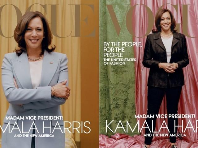 Critiqué pour le choix de sa couverture, Vogue sort une nouvelle version de son numéro sur Kamala Harris