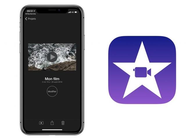 Nouvelle version d'iMovie sur iPhone et iPad avec notamment le support des «fonds verts»