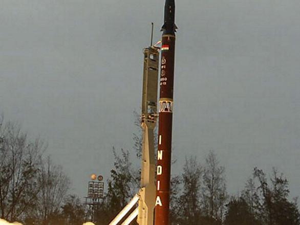 L'Inde teste un missile balistique à capacité nucléaire