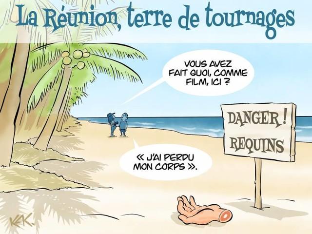 L'humeur de Kak - La Réunion, terre de tournages