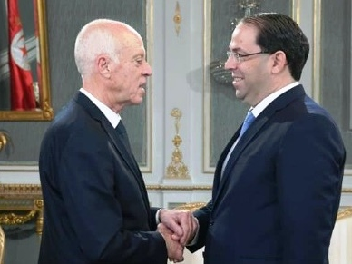 Tunisie – Kaïs Saïed choisit Youssef Chahed pour représenter la Tunisie au Forum de la paix en France