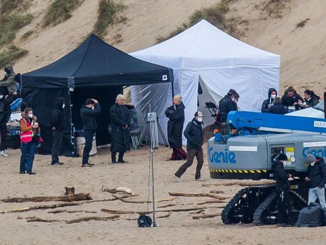 """""""House of the Dragon"""" : les premières images du tournage du préquel de """"Game of Thrones"""""""