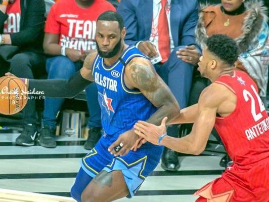 NBA : La team Lebron James remporte le All-Star Game