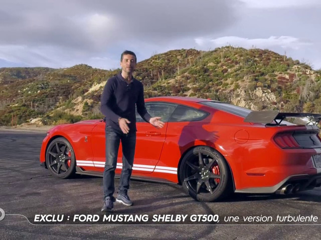 Ford Mustang Shelby GT500, une version turbulente - Extrait TURBO du 01/12/2019