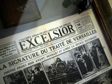 Le 28 juin 1919, le traité de Versailles met fin à la Grande Guerre