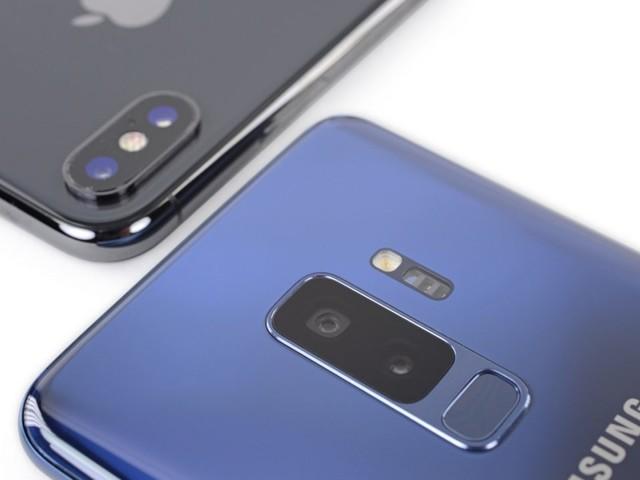 Smartphones : Samsung plus fort qu'Apple au premier trimestre aux États-Unis
