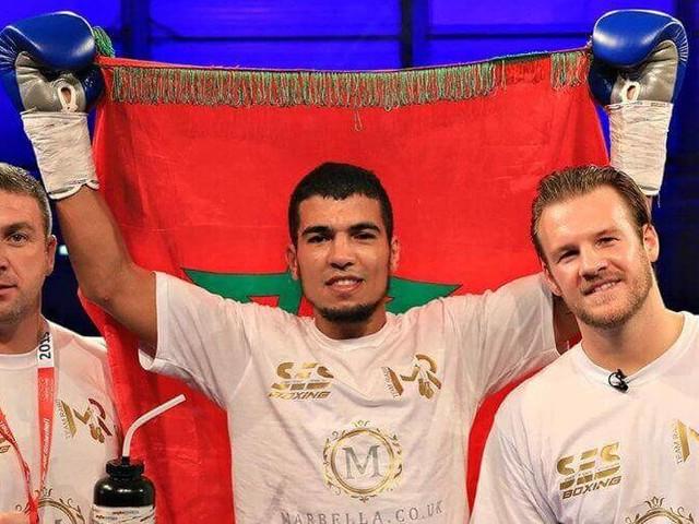 Dixième victoire pour le boxeur marocain Mohamed Rabbii