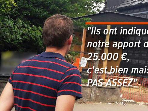 """Pourquoi Sylvain et sa compagne n'obtiennent-ils pas de prêt pour leur maison de rêve? """"Les lois et les banques n'ont aucun scrupule"""""""