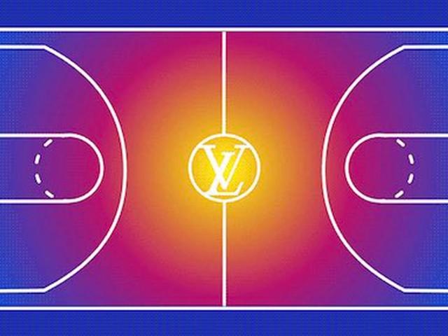 Louis Vuitton annonce son partenariat avec la NBA