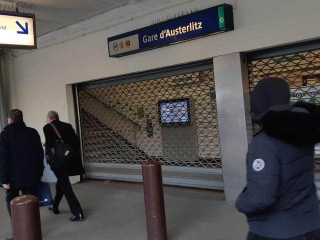 Grève du 19 janvier : 8 Transiliens sur 10, 7 Intercités sur 10 et 8 lignes de métro en circulation