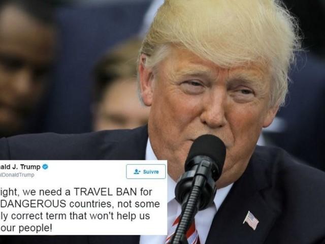 La justice américaine s'appuie sur ce tweet de Trump pour retoquer son décret anti-immigration
