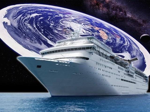 Les Flat Earthers risquent d'être déçus de leur croisière pour prouver que la Terre est plate !