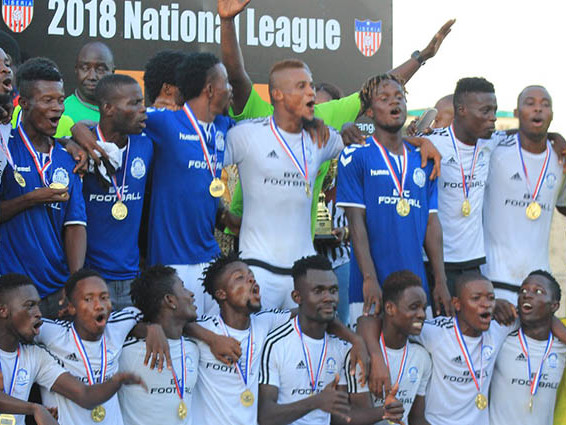 LFA second division league, J-2: second win for BYC FC, Watanga and Nimba United