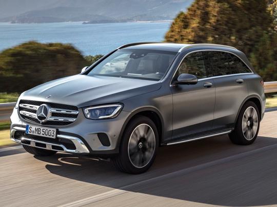 Un prix de départ de 53.450 euros pour le Mercedes GLC, 61.500 euros pour le Coupé