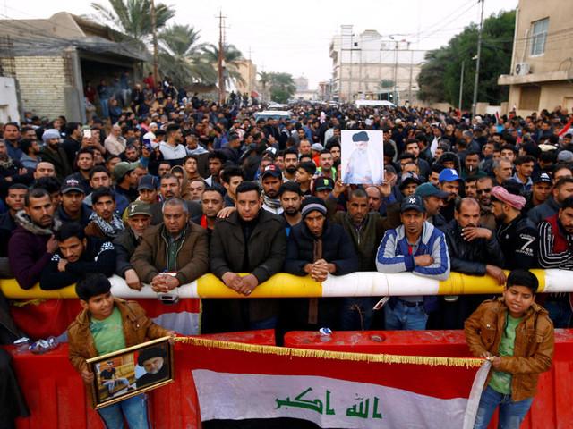 En Irak, la maison du leader Moqtada Sadr ciblée par un obus au cours d'une nuit de violences