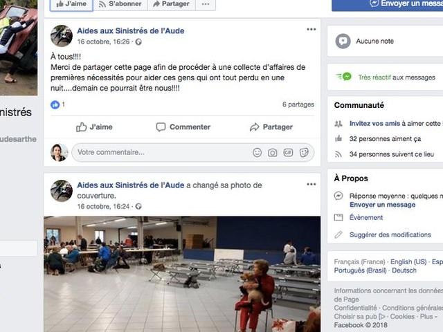 Une policière du Mans se mobilise pour aider les sinistrés de l'Aude