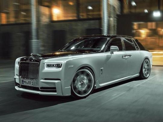 Spofec ose transformer la Rolls Phantom en limousine ultra-sportive