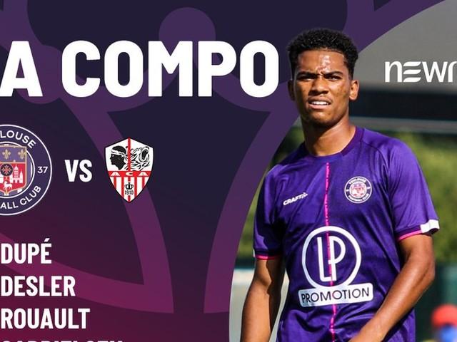Ligue 2 : découvrez la composition du TFC pour le premier match de la saison contre Ajaccio