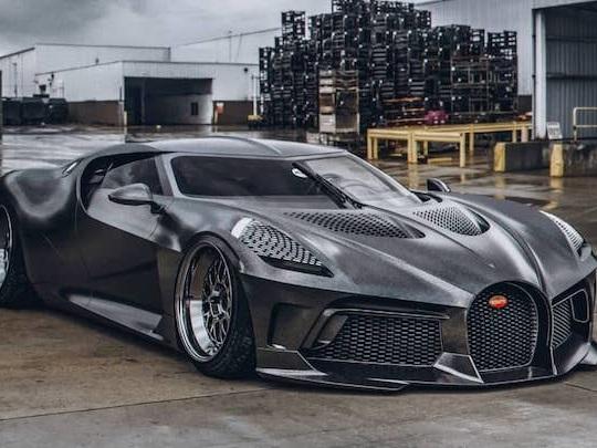 """Quelqu'un a """"tuné"""" la Bugatti la plus chère du monde !"""